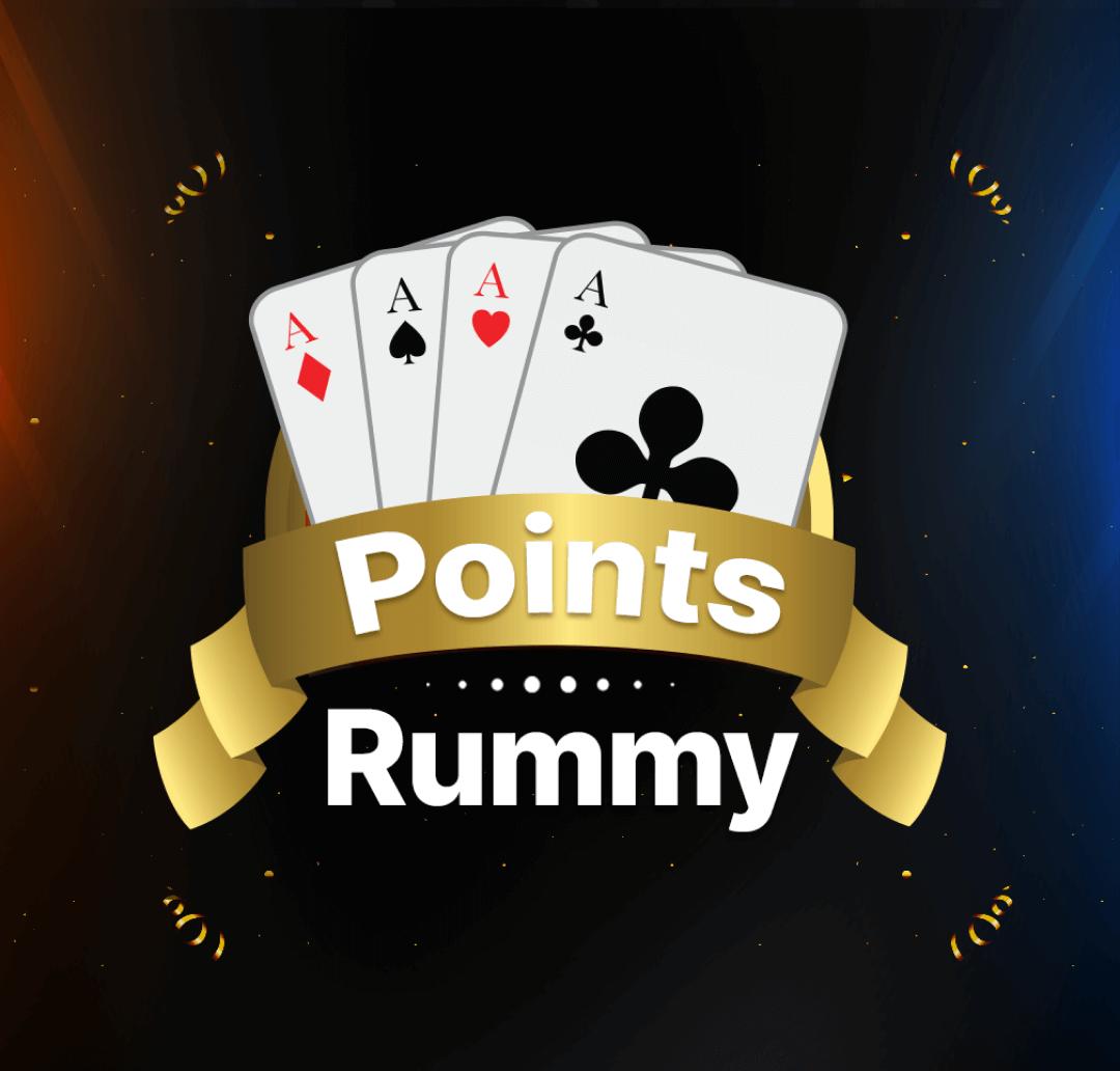 Points Rummy Banner